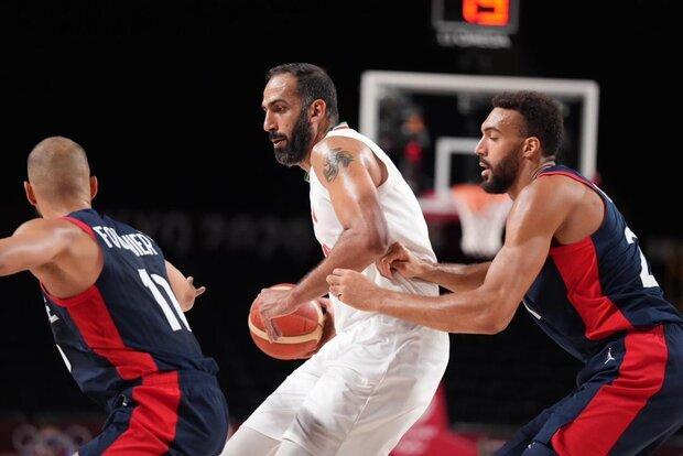Iran basketball falls short against France