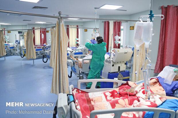 مرز ۵۰۰ بیمار کرونایی بستری در خراسان شمالی شکسته شد