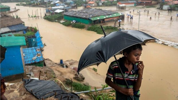 Monsoon rains leaves thousands of Rohingya homeless
