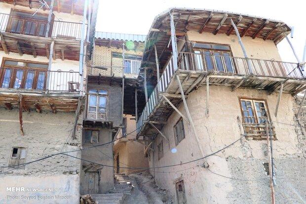 Village near Mashhad with special architecture