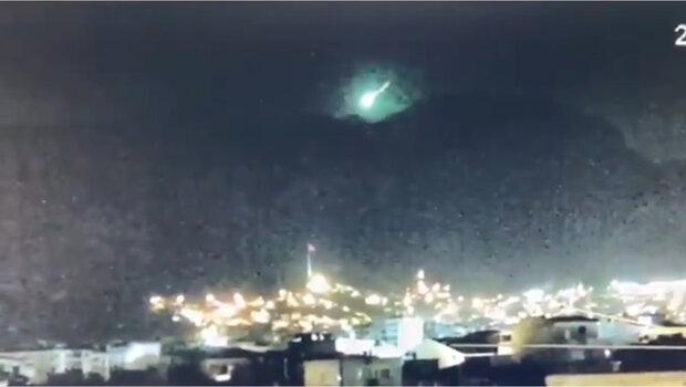 شهاب سنگ سبز رنگ در ترکیه رصد شد