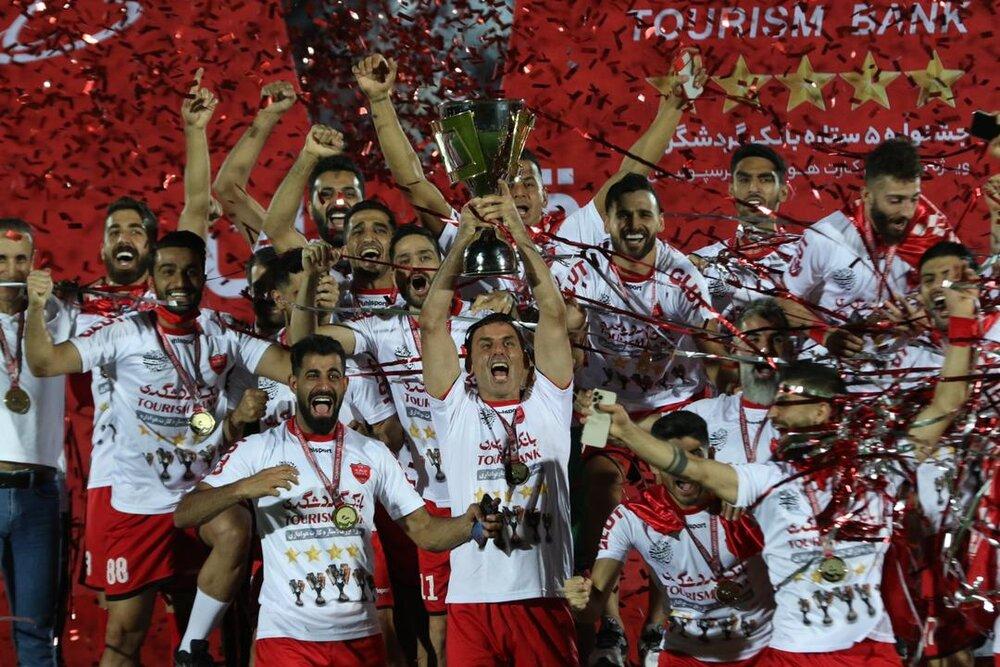 Persepolis claim IPL title for fifth successive time