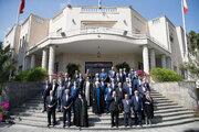 Cumhurbaşkanı Ruhani son kabine toplantısına katıldı