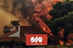 VIDEO: Wildfire still continues at forests in Greece