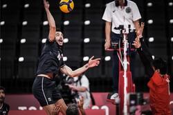 دیدار تیم ملی والیبال ایران و ژاپن
