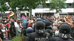 """مظاهرات وصدامات في ألمانيا رفضاً لتدابير """"كورونا"""""""