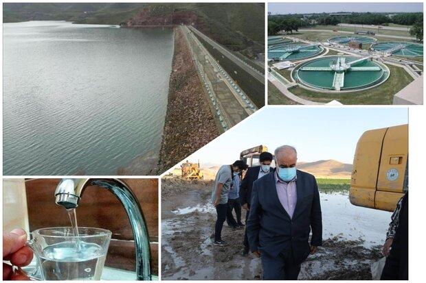 آب شرب کرمانشاه کدر اما سالم!/ شهروندان نگران سلامت آب نباشند