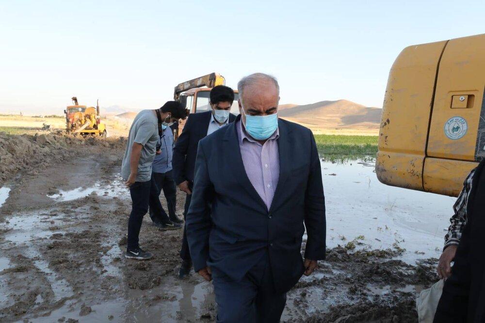 آب شر کرمانشاه کدر اما سالم!/شهروندان نگران سلامت آب نباشند