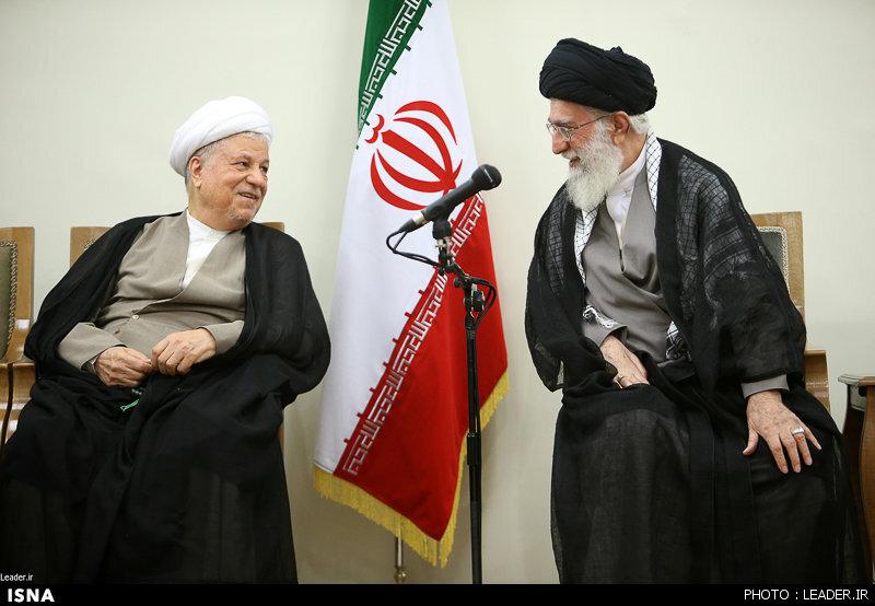 گفتوگوی منتشر نشده رهبر انقلاب با مرحوم هاشمیرفسنجانی