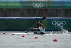 نماینده قایقرانی ایران به مرحله یک چهارم نهایی صعود کرد