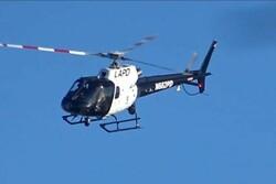 سقوط بالگرد در کالیفرنیا با ۴ کشته