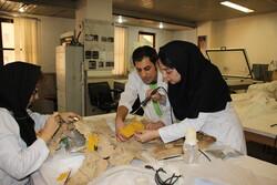 حفاظت و مرمت از قدیمی ترین اشیا چرمی کشف شده در ایران