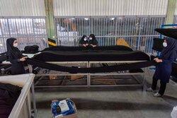 حجاب؛ تنها تولید کننده چادر مشکی ایران