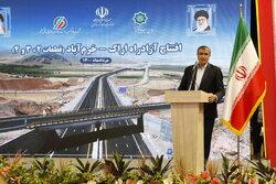 Khorramabad-Boroujerd Freeway inaugurated
