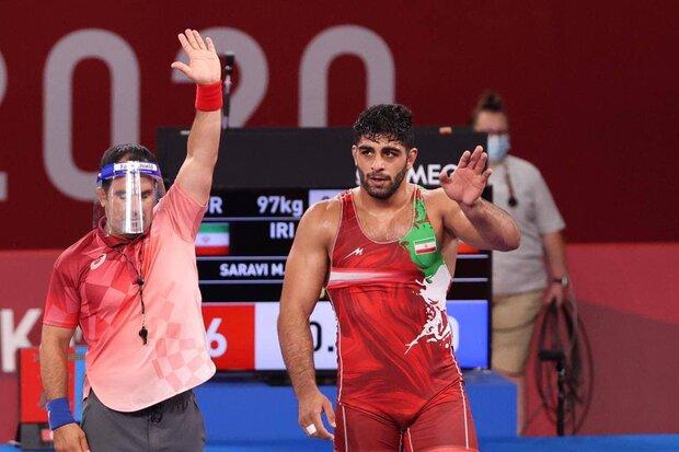 İranlı milli güreşçi Tokyo'da bronz madalya kazandı