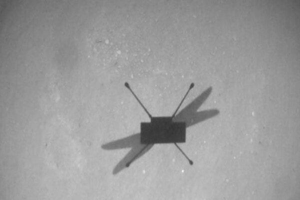 دهمین پرواز هلی کوپتر مریخی را تماشا کنید