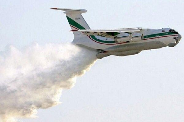 ایرانی سپاہ کے ترکی میں  آگ بجھانے کے آپریشن میں ایک طیارہ اوردو ہیلی کاپٹر شریک