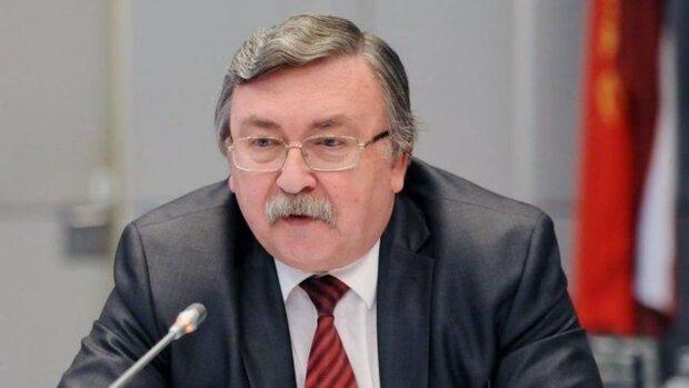 أوليانوف: لا يمكن إحياء الاتفاق النووي الا بصيغته الأصلية