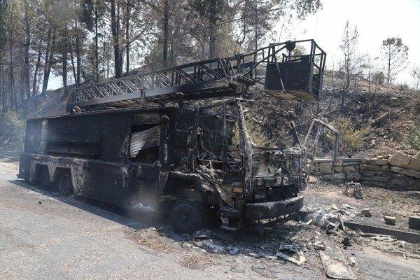 آتش سوزی بزرگ به جنوب غرب ترکیه کشیده شد
