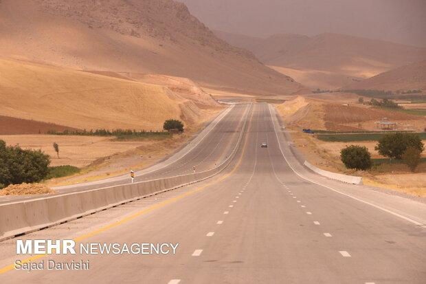 افتتاح آزادراه خرمآباد- بروجرد