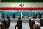 حسینیہ امام خمینی (رہ) میں ایران کے نئے صدر کی تقرری کی تقریب کا آغاز