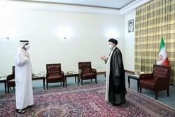 ایرانی صدر کی تقرری کے بعد پہلی سفارتی ملاقات