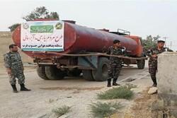طرح آبرسانی توسط پدافند هوایی در روستاهای خوزستان اجرا شد