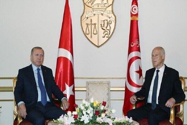 اردوغان: ادامه کار پارلمان تونس برای دموکراسی در این کشور مهم است