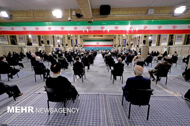 Cumhurbaşkanı Reisi'nin görevi devralma töreninden kareler