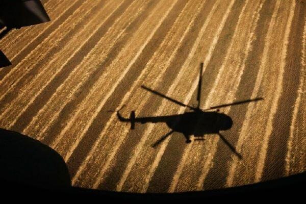 بالگرد نظامی هند سقوط کرد