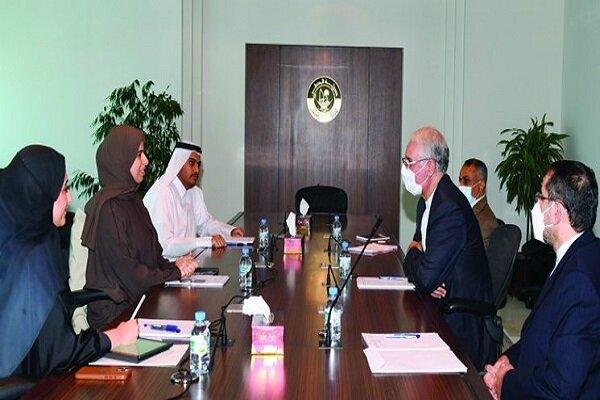 Qatar FM assistant, Iran ambassador consult on bilateral ties