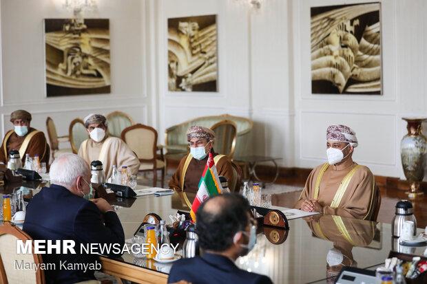 Iranian, Omani FMs meet in Tehran