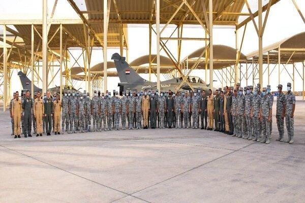 رزمایش نظامی هوایی مصر و امارات