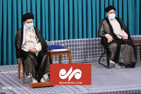 صدر رئیسی کے تقرر کے موقع پر رہبر معظم انقلاب اسلامی کا خطاب