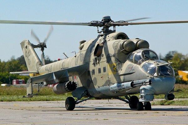 استقرار بالگردهای نظامی روسیه در پایگاه نظامی «گیسار» تاجیکستان