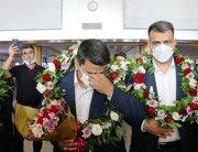 ورود قهرمان طلایی ایران در المپیک به مشهد