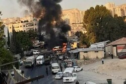 One killed in military bus blast in E Damascus: Report