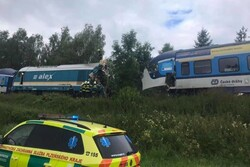 Trains collision in Czech leaves two dead, over 30 injuries