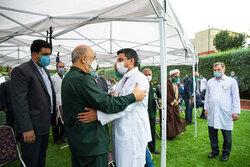 تجلیل از جواد فروغی قهرمان المپیک با حضور فرمانده کل سپاه