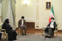 رئيسي: إيران تدعم وحدة اراضي الدول والدفاع عن المظلومين في العالم