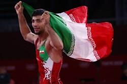 Geraei wins Iran's 2nd gold in Tokyo Olympics