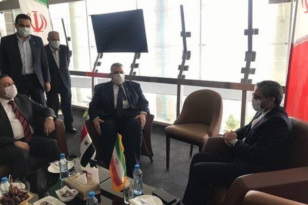 Suriye Meclis Başkanı Tahran'da