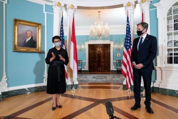 بلینکن: جاکارتا با آمریکا در دریای چین جنوبی همکاری می کند