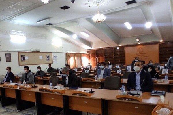 قرائت سوگندنامه توسط اعضای شورای شهر بجنورد