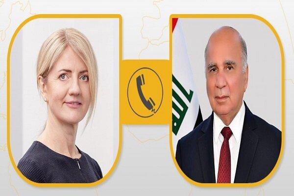 العراق وإستونيا يبحثان سبل تمتين العلاقات التجارية