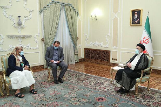 Destiny of Yemen must be decided by Yemenis: Raeisi