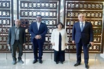 Azerbaycan heyeti Tahran'a geldi