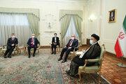 Cumhurbaşkanı Reisi TBMM Başkanı Şentop ile görüştü