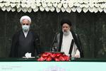 مراسم أداء اليمين للرئيس الإيراني في مجلس الشورى الإسلامي