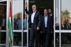 هنية يصل ايران على رأس وفد قيادي من حماس